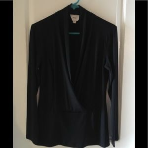 Tops - Long sleeve black shirt